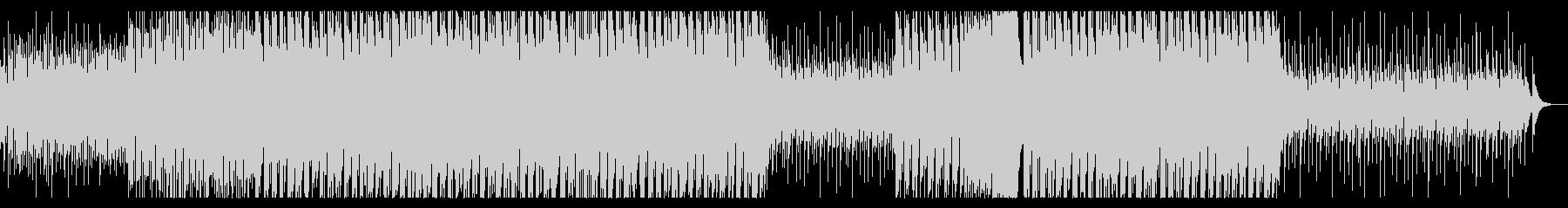 パリピっぽいEDMの未再生の波形