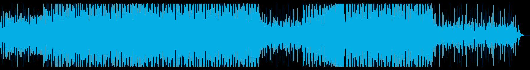 パリピっぽいEDMの再生済みの波形