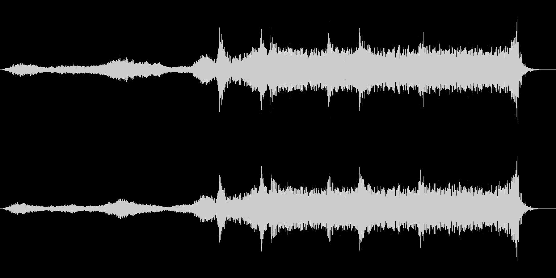 事件現場や潜入中に合いそうなBGMの未再生の波形