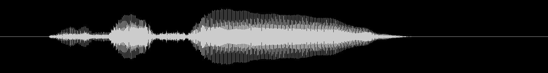 皆さん1(女性)の未再生の波形