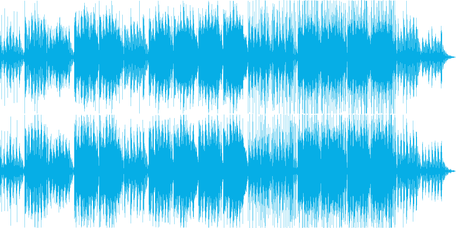 神秘的・幻想的でチルなLoFiビートの再生済みの波形