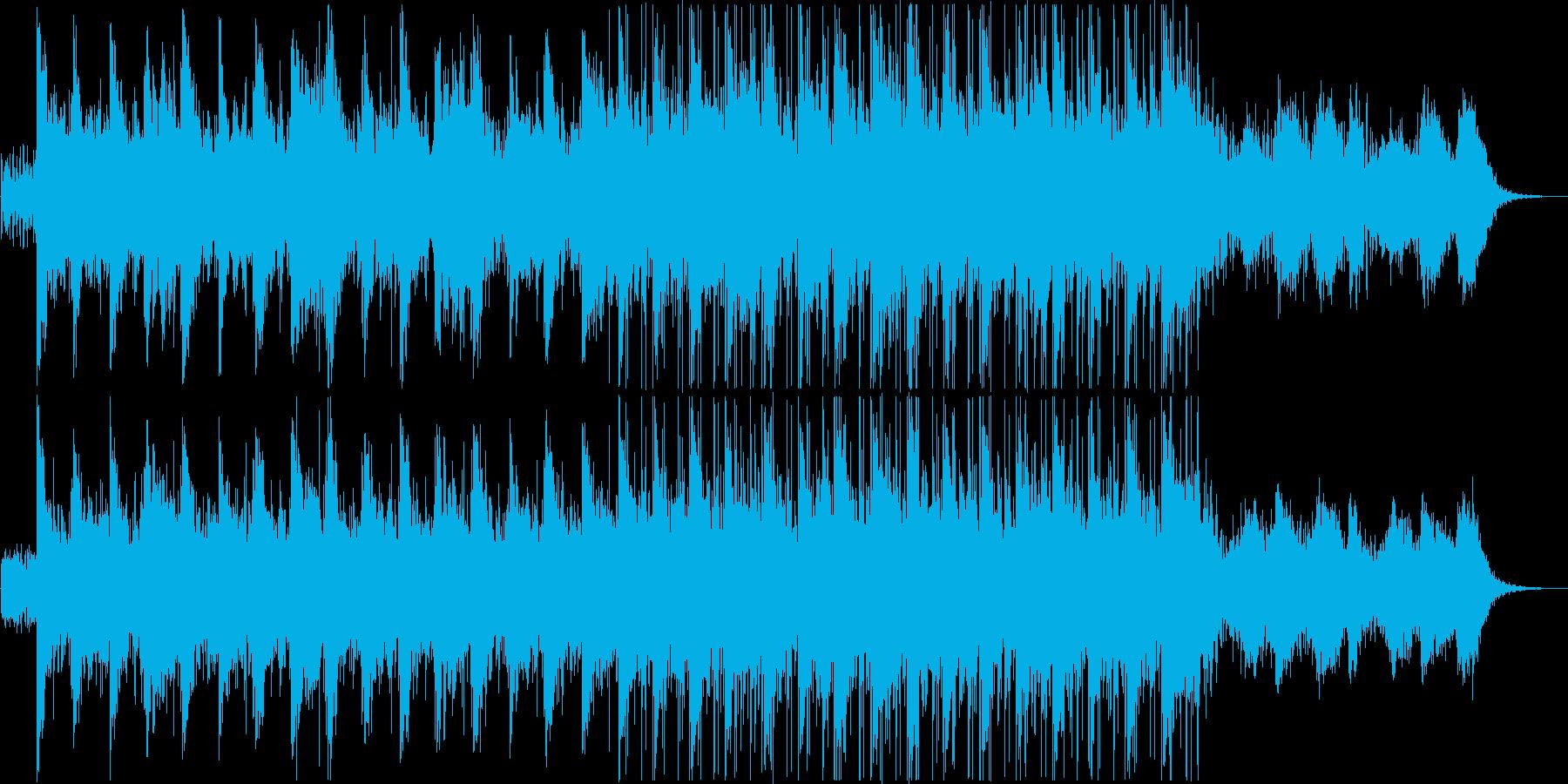 Today's Menuの再生済みの波形