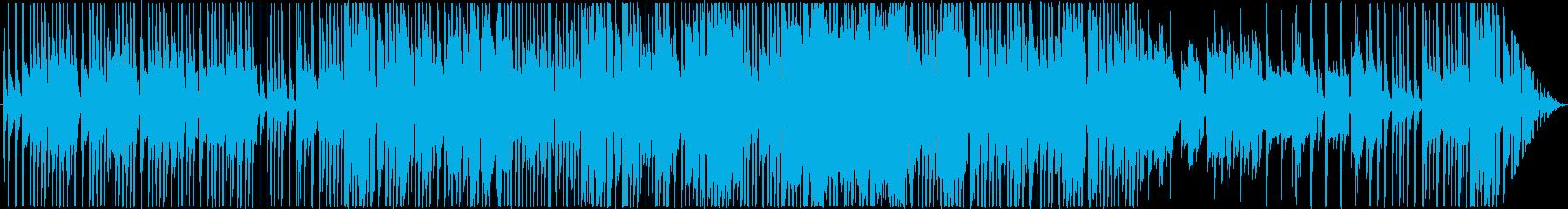 シュールなモータウン風エレピインストの再生済みの波形
