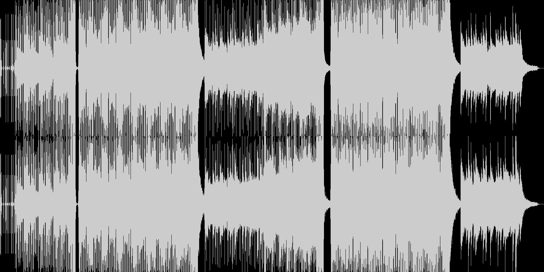 ポップ テクノ 代替案 実験的な ...の未再生の波形