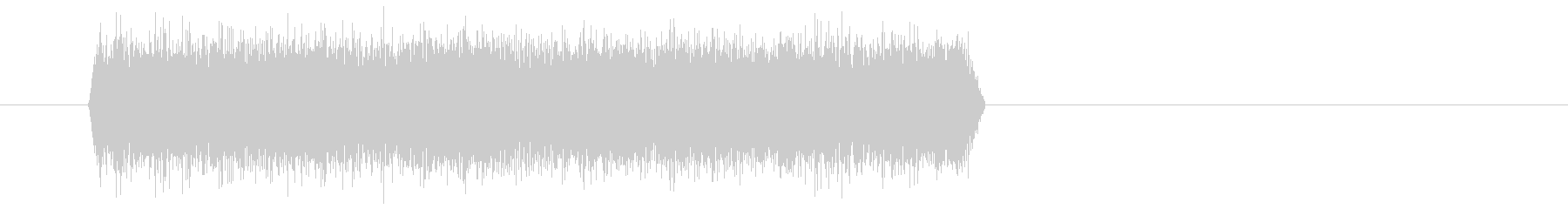 シュー(噴射音) 01の未再生の波形