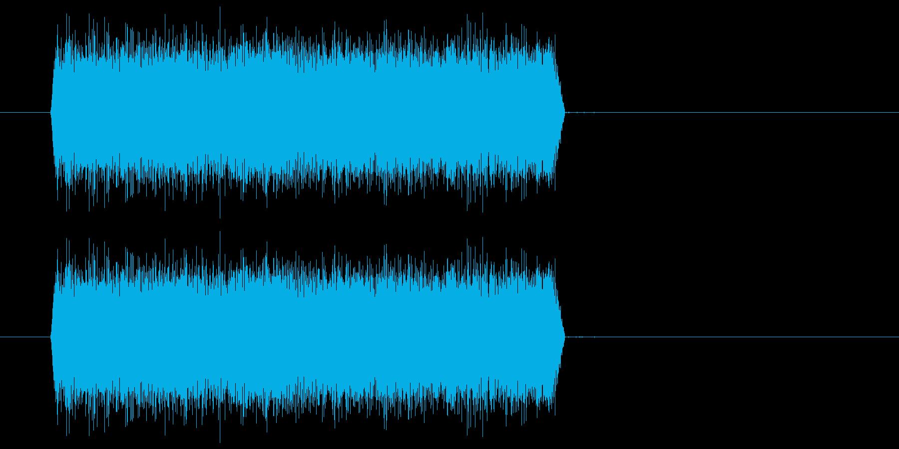 シュー(噴射音) 01の再生済みの波形