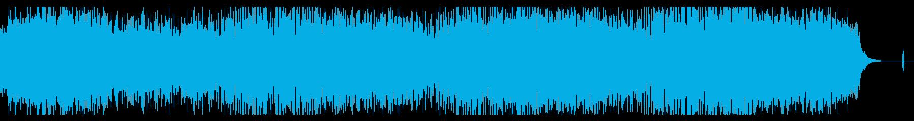 ダークなアンビエントテクスチャの再生済みの波形