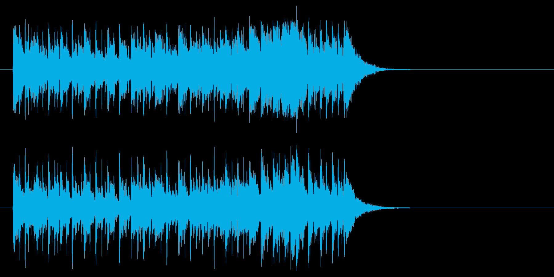 シュプールを描くポップ(Bメロ)の再生済みの波形