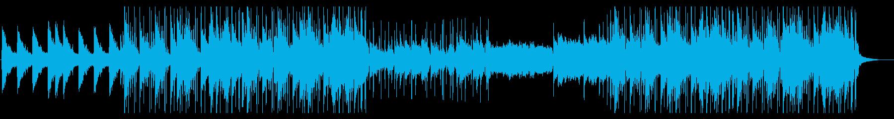 朧げなLo-fi Hip Hopの再生済みの波形