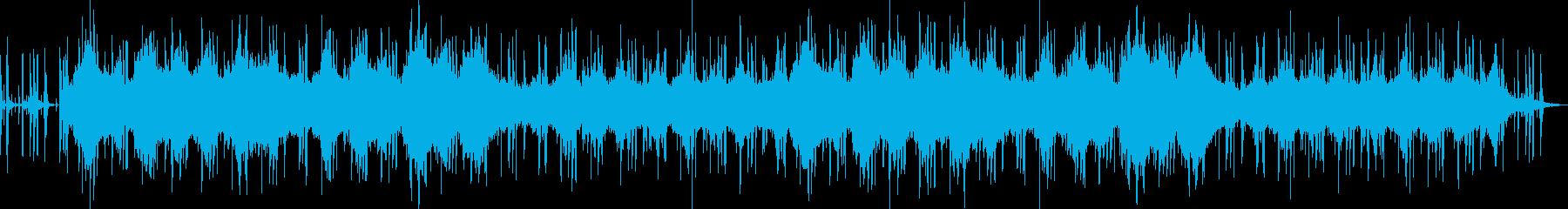 ローファイヒップホップ アンビエントの再生済みの波形