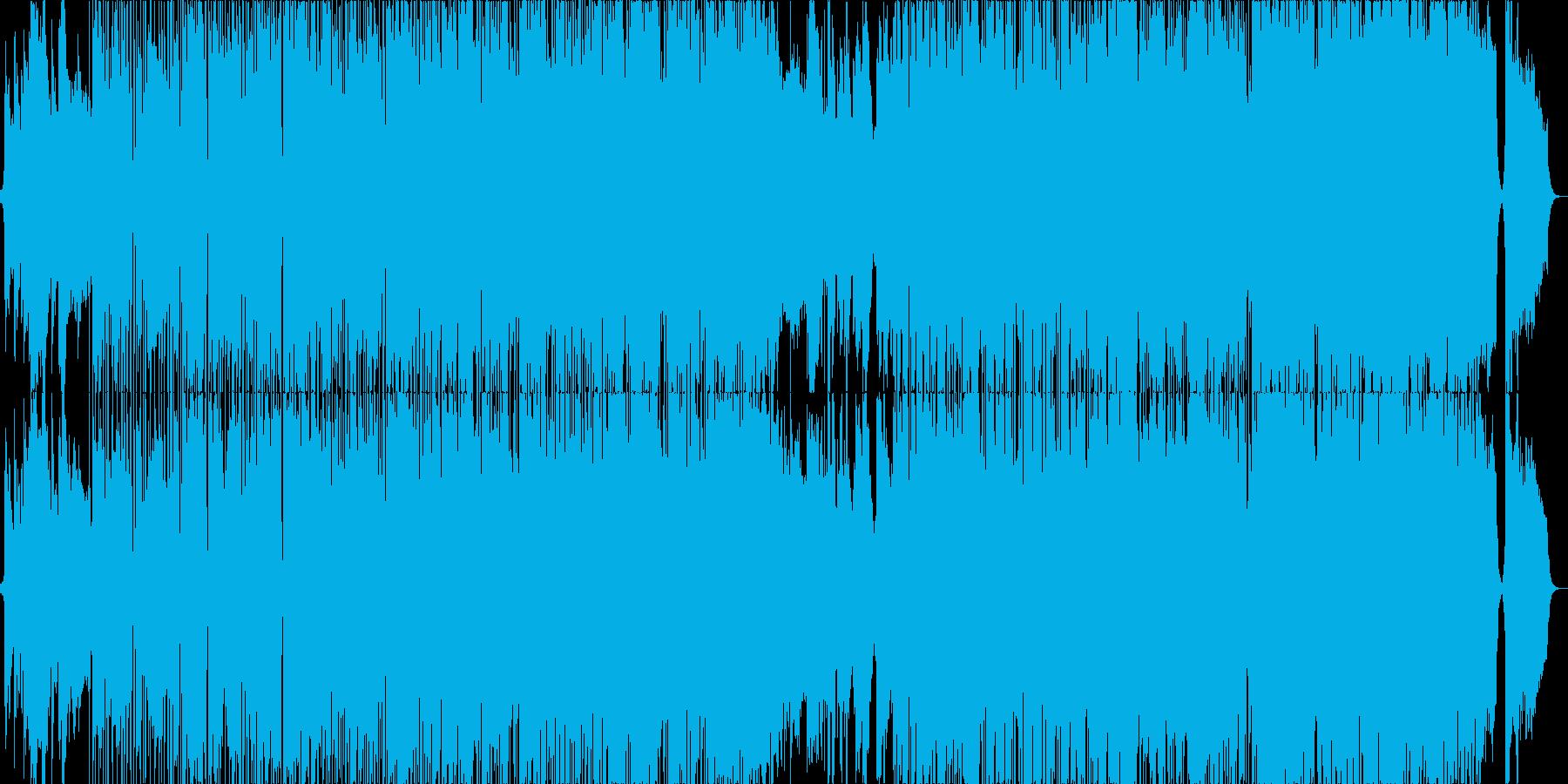 Skyscraperの再生済みの波形