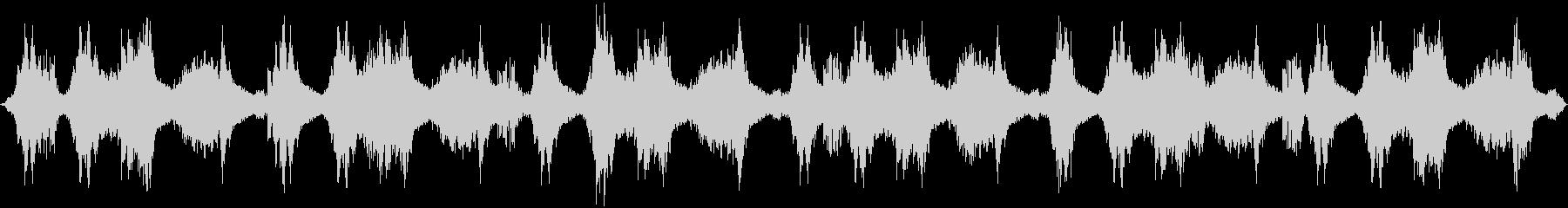 シリアス・緊迫・洞窟・環境音の未再生の波形