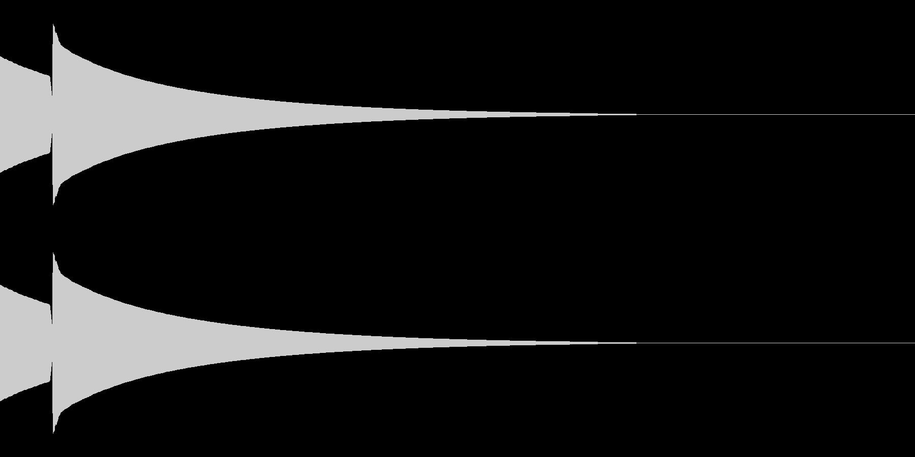 キラッ(星/アイテム/気付く)の未再生の波形