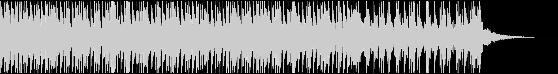 トロピカルハウスパーティー(40秒)の未再生の波形