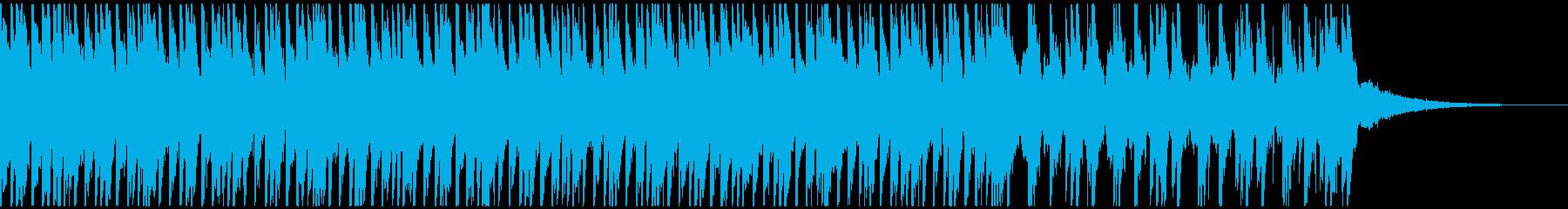 トロピカルハウスパーティー(40秒)の再生済みの波形