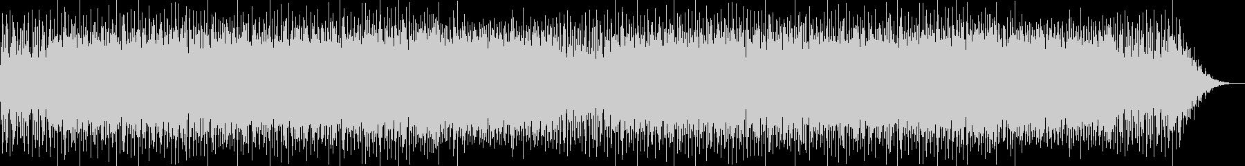ほのぼのとしたかわいらしい明るい曲の未再生の波形