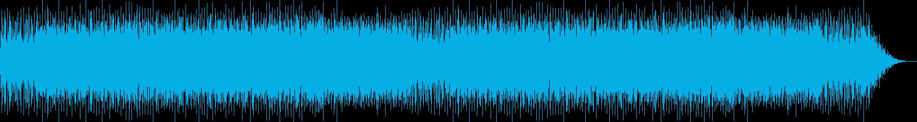 ほのぼのとしたかわいらしい明るい曲の再生済みの波形