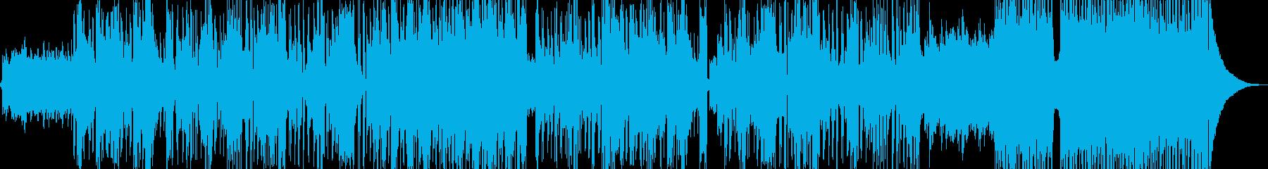 新鮮な空気感の演出・クールなビート A2の再生済みの波形
