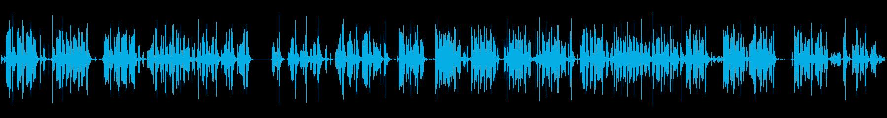 アヒルのワドルリング、クッキングおもちゃの再生済みの波形