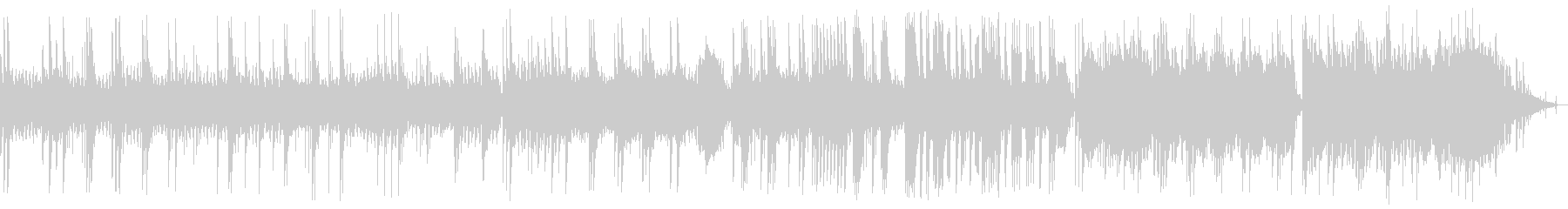 A sad but scary melody's unreproduced waveform