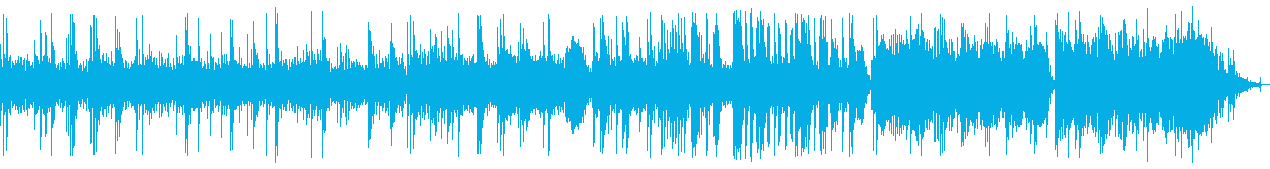 A sad but scary melody's reproduced waveform