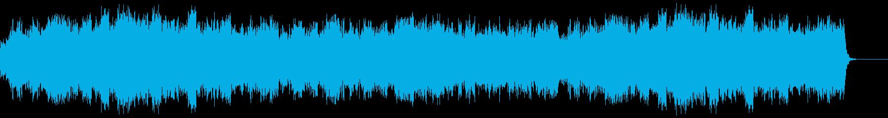 管弦楽による堂々とした行進曲の再生済みの波形