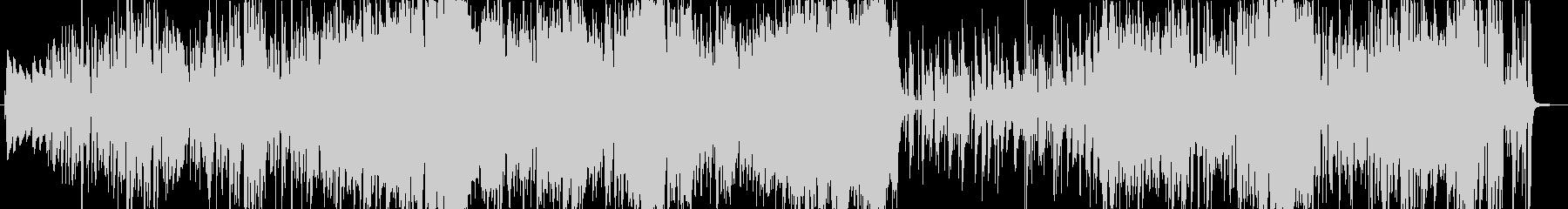 サックスとトランペットの軽快なジャズの未再生の波形