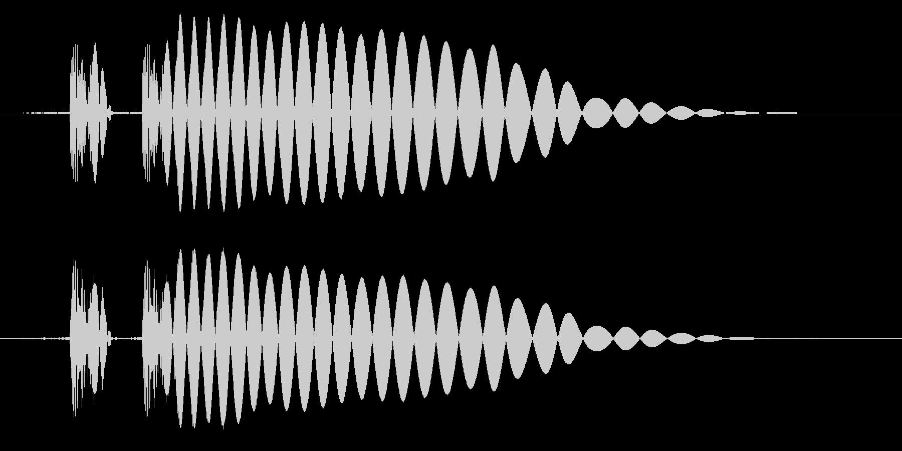 EDM/IDM系の埋もれないバスドラ5bの未再生の波形