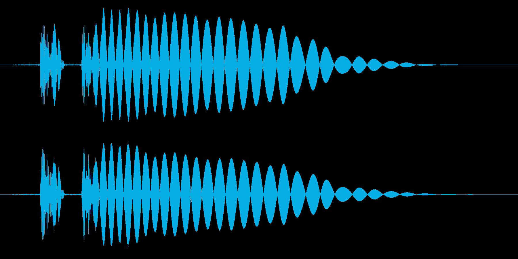 EDM/IDM系の埋もれないバスドラ5bの再生済みの波形