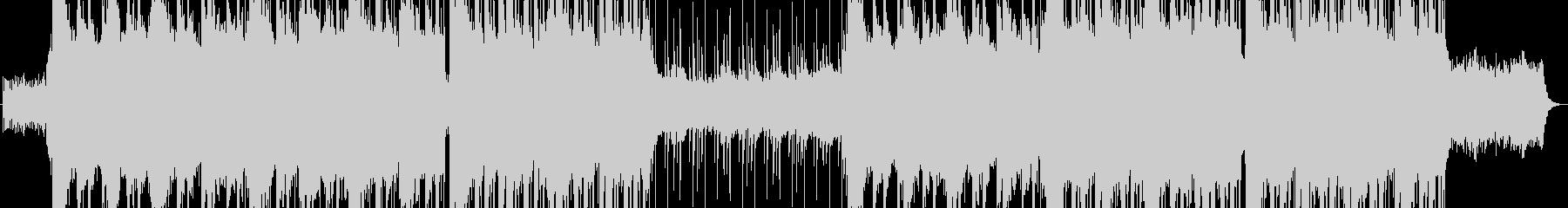 追いつめられたイメージのインスト曲の未再生の波形