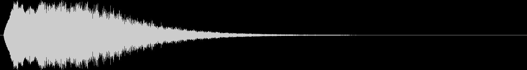 ピュルルルルル(流れ星、キラキラ)の未再生の波形