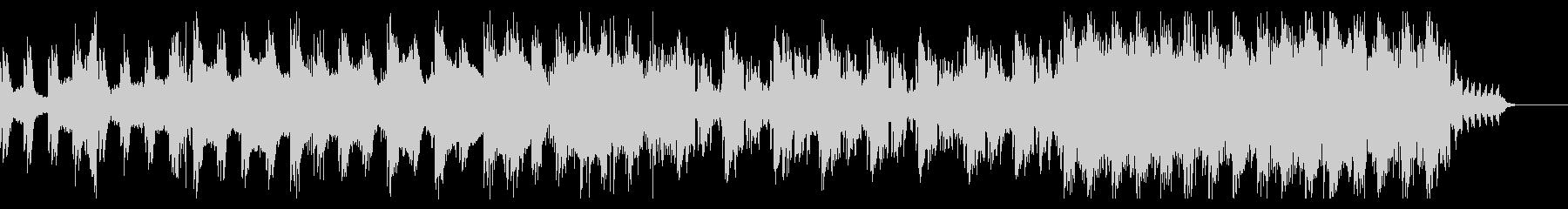 ピアノ主導のダークな曲の未再生の波形