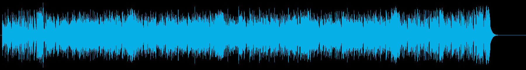爽やかな情報向けフュージョン/BGの再生済みの波形