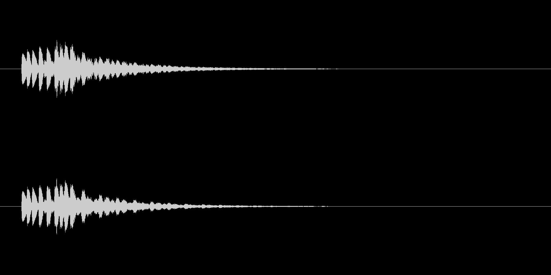 【ショートブリッジ17-5】の未再生の波形