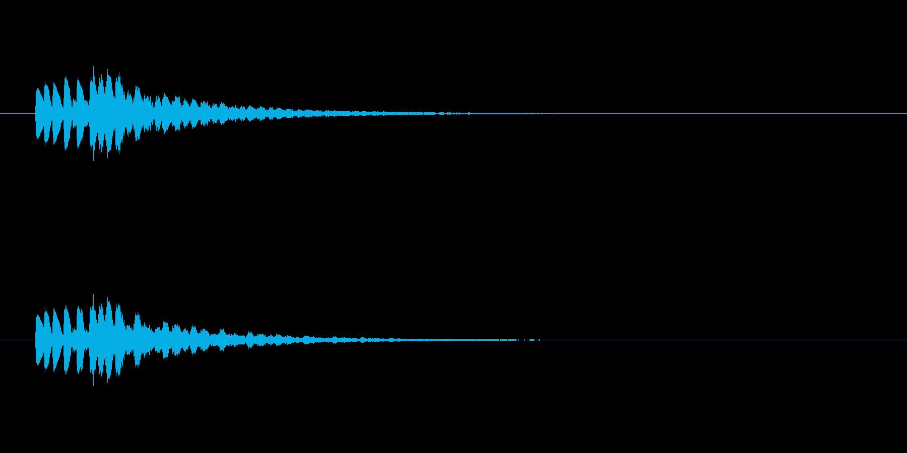 【ショートブリッジ17-5】の再生済みの波形