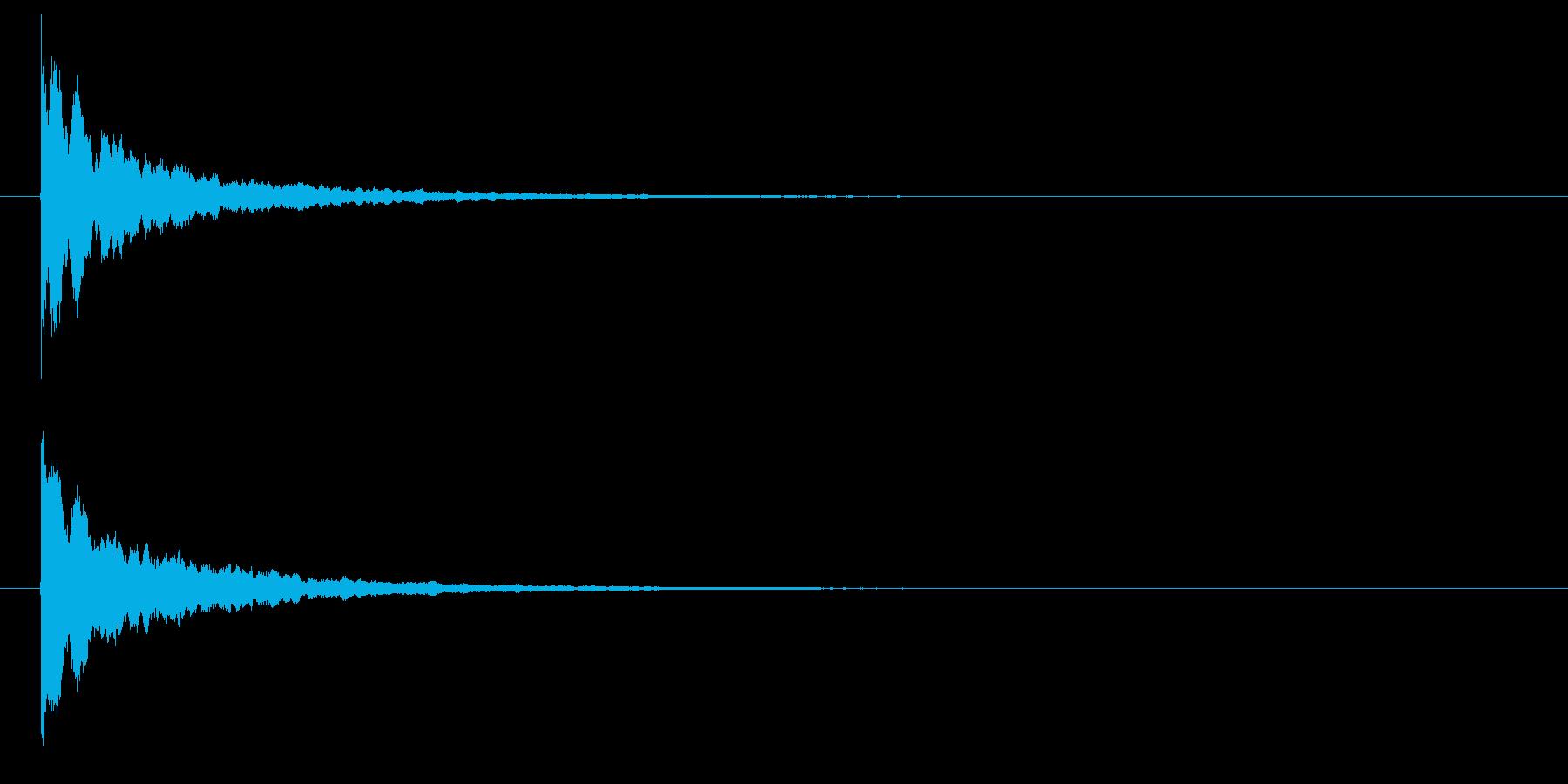 パリーン(光・輝く・割れる・砕ける)の再生済みの波形