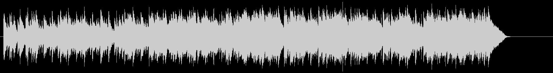 穏やかなティータイムのボサノバ/ポップの未再生の波形