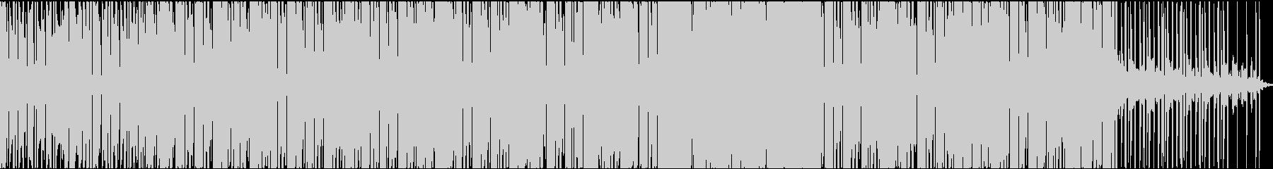 トロピカルな雰囲気のトラップ・ビートの未再生の波形
