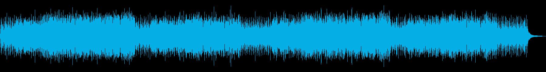 まったり穏やかな日常系アコースティックの再生済みの波形