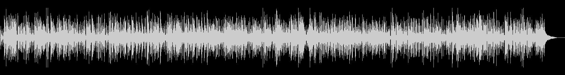 明るいアコースティックジャズピアノトリオの未再生の波形