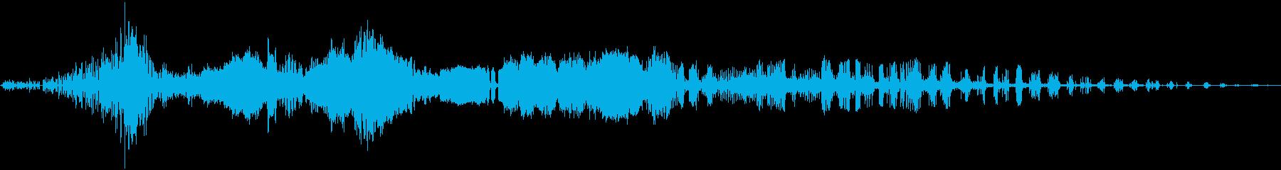 電気の再生済みの波形