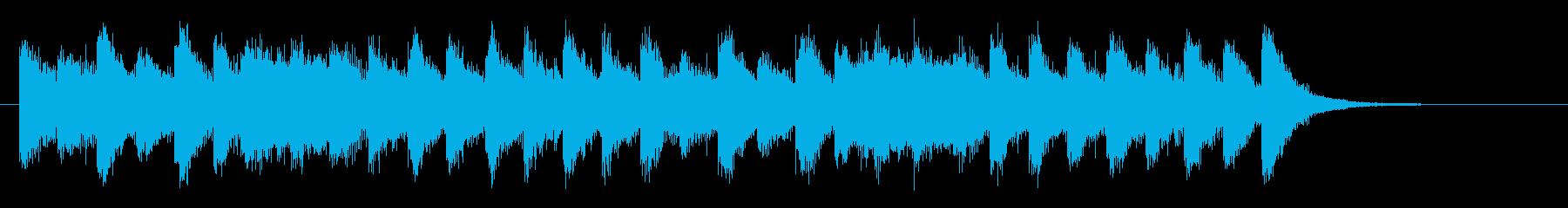 わくわく&ハッピーなポップオーケストラの再生済みの波形