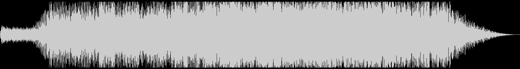 成層圏を浮遊するイメージの未再生の波形