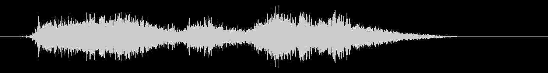 ドリルで木材に穴をあける音7の未再生の波形