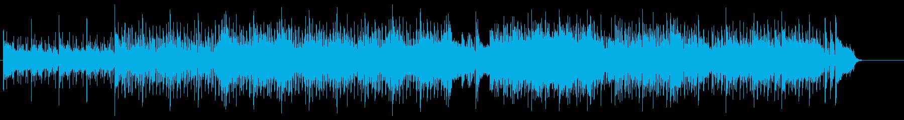 シックで落ち着いたスロー・ポップスの再生済みの波形