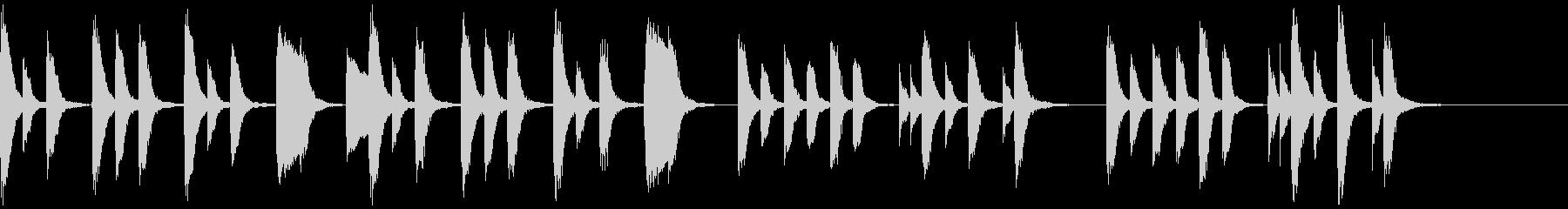 知育・料理・パズル・日常ピアノ20Aの未再生の波形