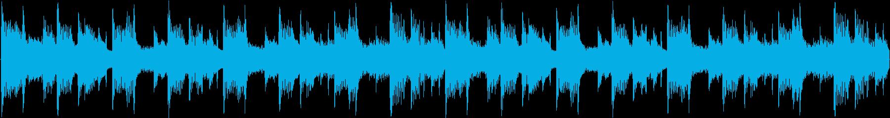 リラックス系のアンビエントハウスの再生済みの波形