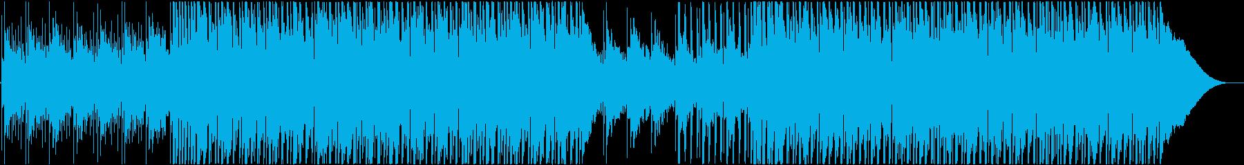 80年代風のメロディアスなポップファンクの再生済みの波形
