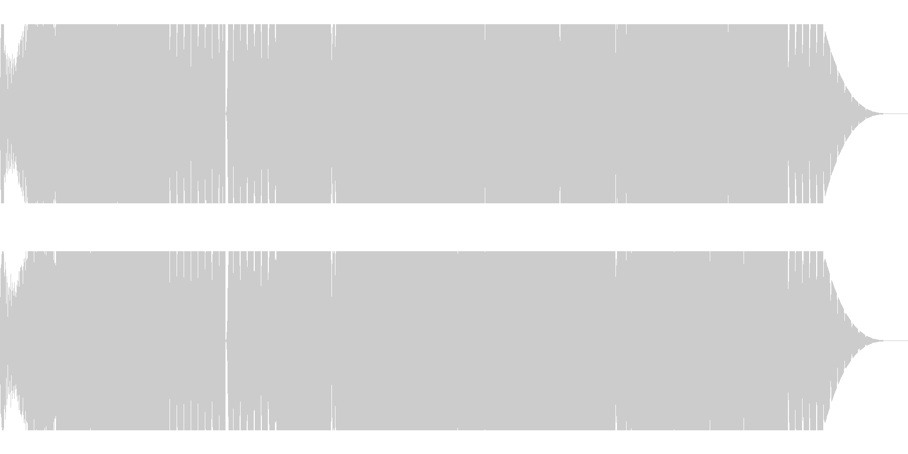 【EDM・ダブステップ】CM映像制作向けの未再生の波形