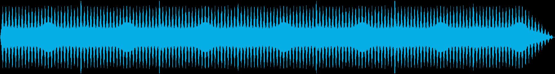 悪夢の再生済みの波形